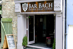 Bar Bach, Caernarfon. Royalty Free Stock Photo
