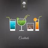 Bar banner Stock Image
