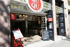 Bar in Barcelona Stock Image