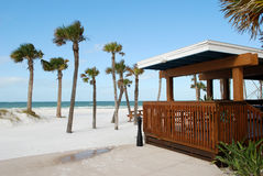 Bar on a Beach. Photo of bar on Clear Water Beach, Florida, USA Royalty Free Stock Photography