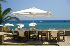Bar on the beach Royalty Free Stock Images