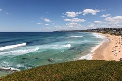 Bar Beach - Merewether Beach - NSW AUstralia Royalty Free Stock Photography