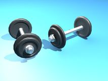 Bar bell Royalty Free Stock Images