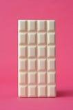 Bar biała czekolada Zdjęcia Stock