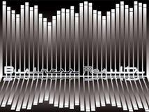 bar black chart reflect διανυσματική απεικόνιση