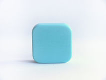 Bar of blue agar soap Stock Photography