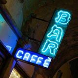 Bar Caffe Royalty Free Stock Images