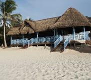 Bar on caribbean beach Stock Images