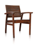 Bar chair isolated over white, clipping path. Royalty Free Stock Images