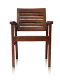 Bar chair isolated over white, clipping path. Stock Photo