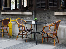 Bar ,Chair and Table ,Restaurants. Chair and table in bar,Shanghai,China Royalty Free Stock Image