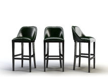 Bar chairs Royalty Free Stock Photo