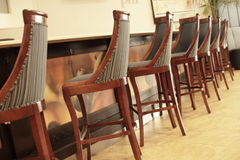 Bar chairs Stock Photos