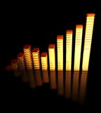 Bar chart Stock Photos