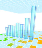 Bar Chart Royalty Free Stock Photos