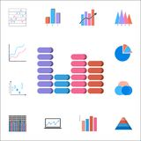 Bar chart icon. Detailed set of Charts & Diagramms icons. Premium quality graphic design sign. One of the collection icons for web. Bar chart icon. Detailed set Royalty Free Stock Image