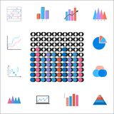 Bar chart icon. Detailed set of Charts & Diagramms icons. Premium quality graphic design sign. One of the collection icons for web. Bar chart icon. Detailed set Stock Photo