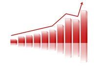 Bar chart (vector) Stock Photography