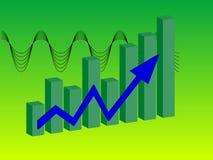 Bar chart (vector) Royalty Free Stock Images