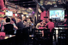 Bar in china royalty free stock images