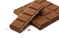 Bar of chocolate Stock Photos