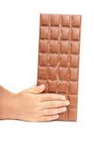 Bar of chocolate Stock Photo