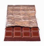 Bar of chocolate Royalty Free Stock Photo