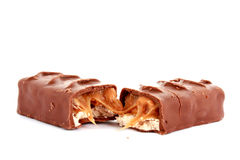 Bar of chocolate Stock Image