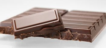 Bar of chocolate Royalty Free Stock Photos