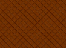 Bar of chocolate pattern. brown backgrounds Stock Photos