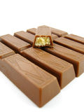 Bar of chocolate Royalty Free Stock Images
