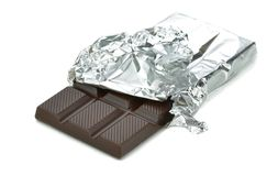A bar of chocolate Royalty Free Stock Photo
