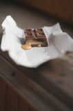 bar choklad Arkivfoto