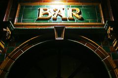 Bar club Stock Photography