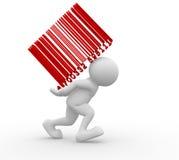 Bar-code Imagem de Stock