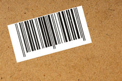 Bar code. Bar code for automated data collection royalty free stock photography
