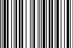 Bar Code. High resolution bar code on white background Stock Photos