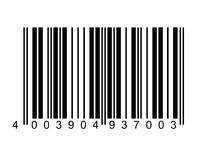 Bar code. An illustration of a bar code Royalty Free Stock Images