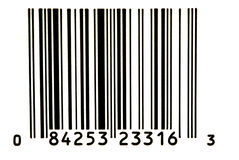 Bar Code. 1 royalty free stock photography