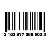 Bar code. A bar code of a non-existent product Stock Photos