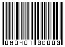 Bar code. Illustration of a barcode or sku Royalty Free Stock Image
