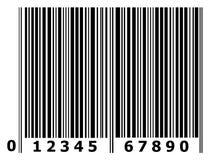 Bar code. On white background Stock Images