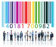 Bar Code Encryption Coding Identity Concept Stock Photos
