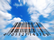 Bar code illustration Stock Images