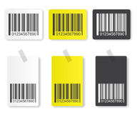 Bar code illustration Stock Image