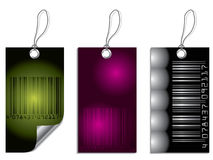Bar-code label set Royalty Free Stock Photos