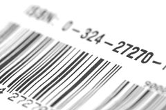 Bar Code Numbers  Royalty Free Stock Images