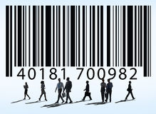 Bar Code Price Tag Merchandise Goods Concept Royalty Free Stock Photography