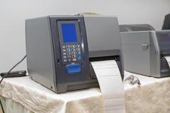 Bar Code Printer stock image