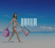 Bar Code Scanning Inventory Logistics Production Concept Royalty Free Stock Photography